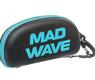 Mad Wave etui na okulary pływackie azure